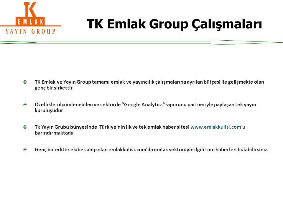  TK Emlak ve Yayın Group tamamı emlak ve yayıncılık çalışmalarına ayrılan bütçesi ile gelişmekte olan genç bir şirkettir.