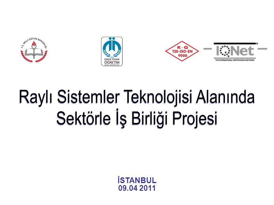 İÇERİK 1.Mesleki ve Teknik Eğitim 2.Erkek Teknik Öğretim Genel Müdürlüğü (ETÖGM) 3.Türkiye Cumhuriyeti Devlet Demiryolları İşletmesi Genel Müdürlüğü (TCDD) 4.Raylı Sistemler Teknolojisi Projesi 5.Uluslararası Raylı Sistemler Teknolojisi Projeleri