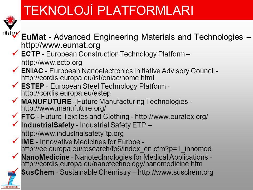 2008 Çağrı Takvimi Tüm çağrılar-açılış tarihi: 30 Kasım 07 •Büyük Araştırma Projeleri: FP7-NMP-2008-LARGE-2 Kapanış: 1.aşama: 6 Mart 08, 2.aşama: 23 Eylül 08 13 proje konusu / > 60 M € / her proje > 4 M € •Küçük-Orta Araştırma Projeleri: FP7-NMP-2008-SMALL-2 Kapanış: 1.aşama: 6 Mart 08, 2.aşama: 2 Eylül 08 12 proje konusu / >101 M € / her proje < 4 M€ •KOBI'ler için Araştırma Projeleri: FP7-NMP-2008-SME-2 Kapanış: 1.aşama: 6 Mart 08, 2.aşama: 23 Eylül 08 5 proje konusu / > 5 M €