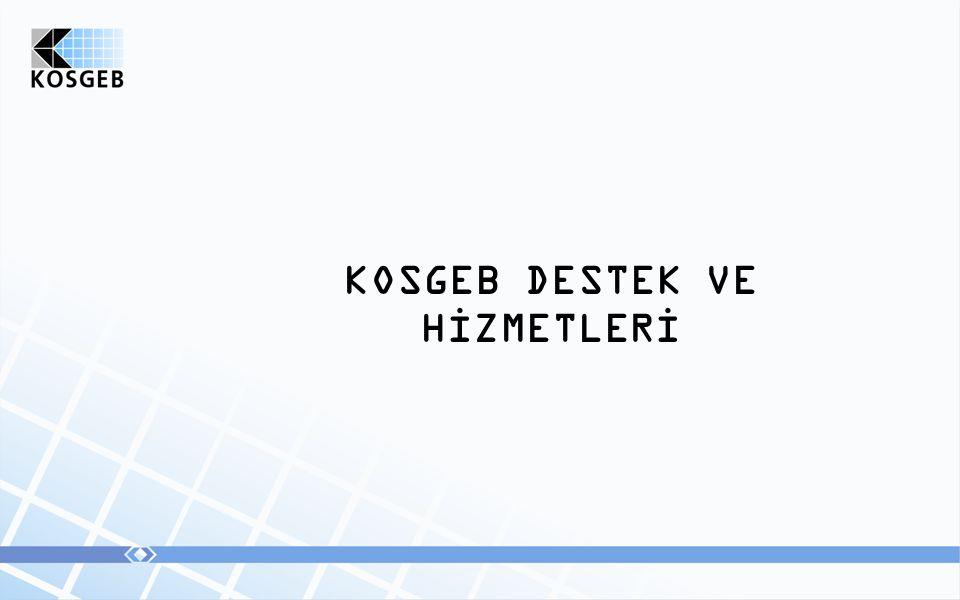 KOSGEB DESTEK VE HİZMETLERİ