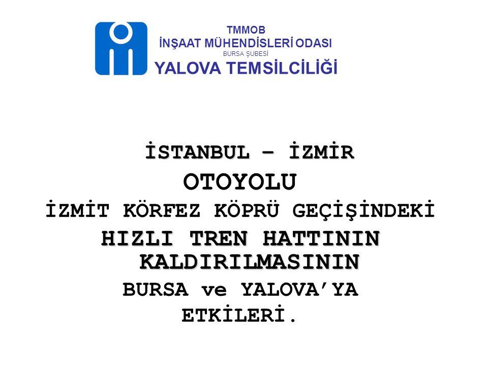 İstanbul – İzmir Otoyolu projesinin, 2008 yılı başında tekrarlanan ihale ilanında : İzmit Körfezine yapılacak olan Körfez Köprüsü üzerinde 2x3 şeritli karayolu ve 2x1 demiryolu hattının yapılması öngörülmüştü.