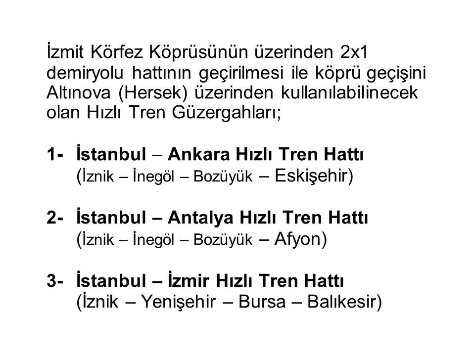 Ankara – İstanbul Hızla Tren Hattı Projesinin 2.