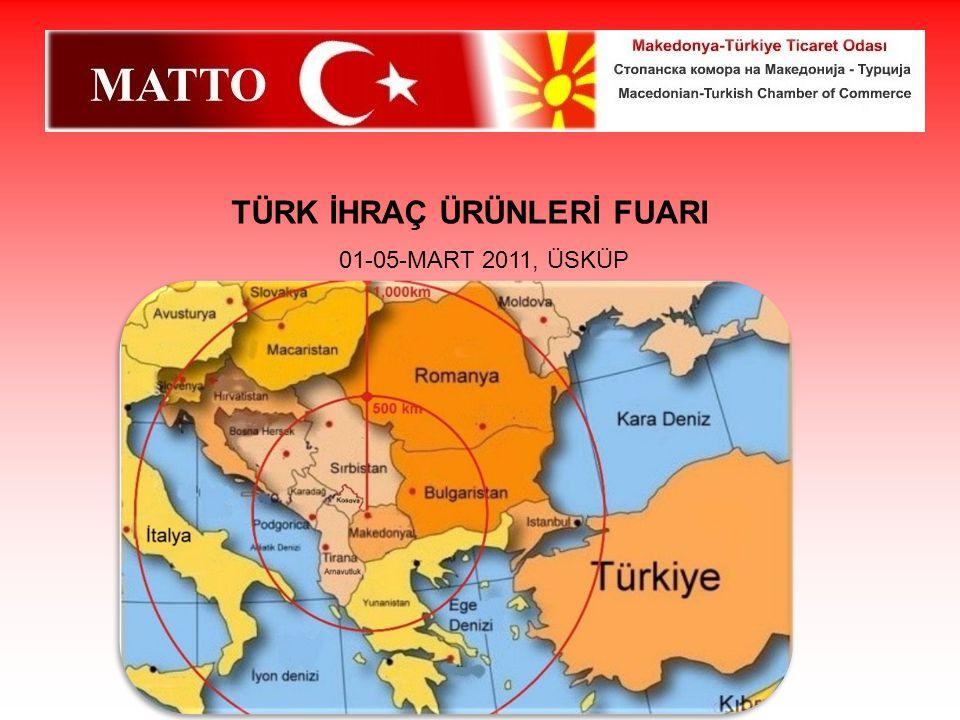 TÜRK İHRAÇ ÜRÜNLERİ FUARI 01-05-MART 2011, ÜSKÜP