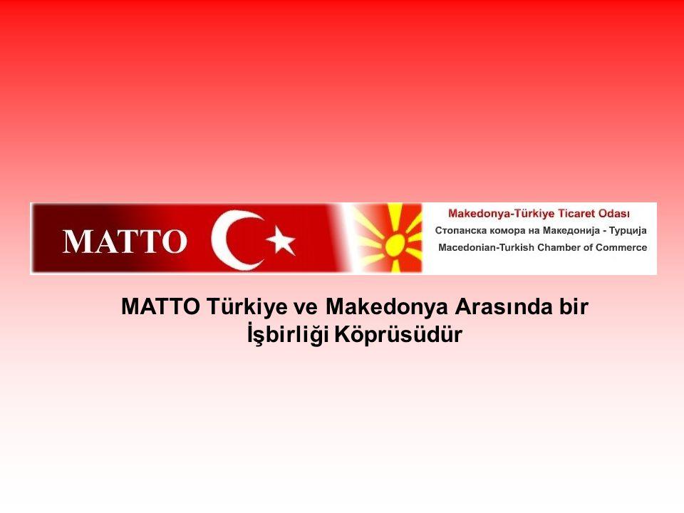 MATTO Türkiye ve Makedonya Arasında bir İşbirliği Köprüsüdür