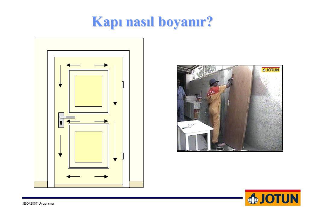 Kapı nasıl boyanır?