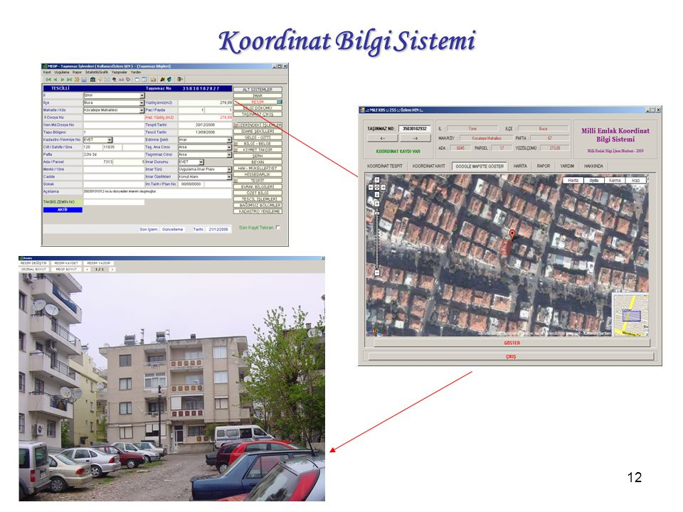 12 Koordinat Bilgi Sistemi