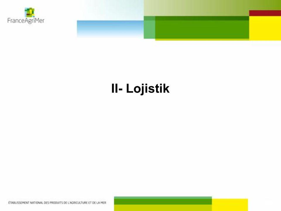 II- Lojistik