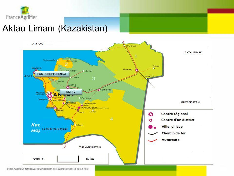 Aktau Limanı (Kazakistan) LA MER CASPIENNE FORT CHEVTCHENKO AKTAU
