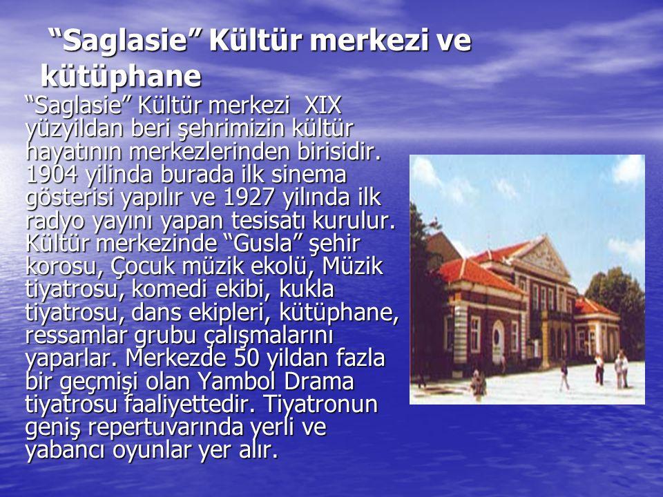 """""""Saglasie"""" Kültür merkezi ve kütüphane """"Saglasie"""" Kültür merkezi ve kütüphane """"Saglasie"""" Kültür merkezi XIX yüzyildan beri şehrimizin kültür hayatının"""
