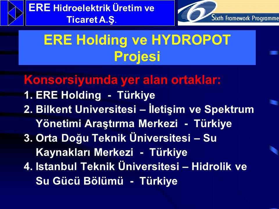 Konsorsiyumda yer alan ortaklar: 1.ERE Holding - Türkiye 2.