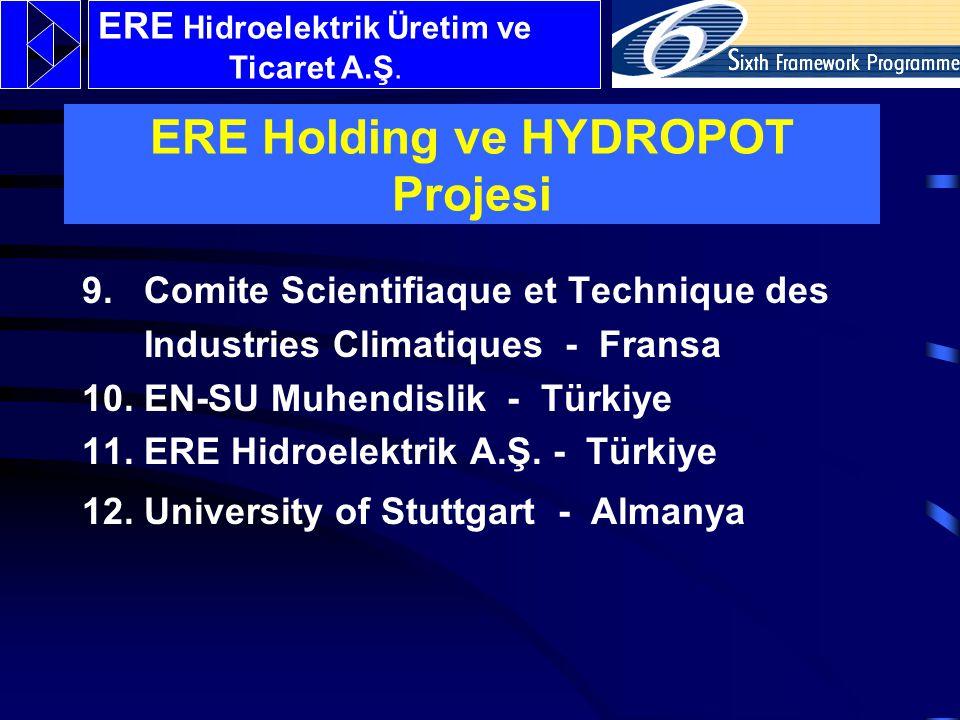 9.Comite Scientifiaque et Technique des Industries Climatiques - Fransa 10.