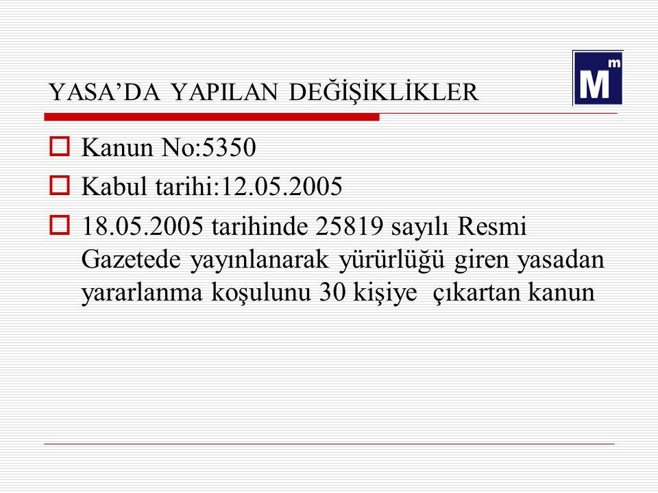5084 Yasa Kapsamındaki işyerleri için ASGARİ ÜCRET (30x19,50) AYLIK585,00.