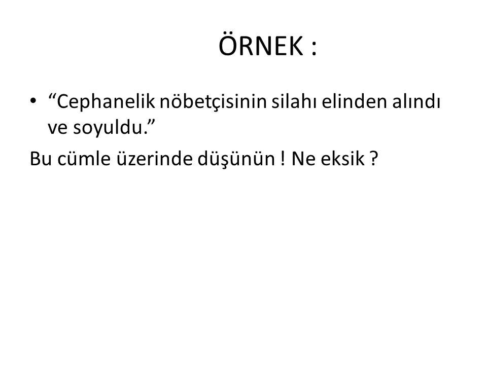DİĞER ÖRNEKLER: • Eski Ankara valisi yerine Ankara eski valisi demeliyiz.