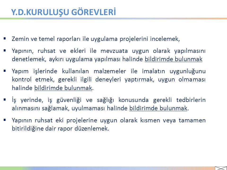 YAPI DENETİM HİZMET BEDELİ ( 17.08.2011 KHK/648 ile Kanun değişikliği)