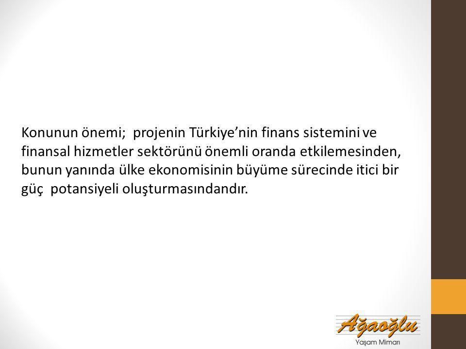 Proje Detayları İstanbul Uluslararası Finans Merkezi (ATAŞEHİR) Bölge 1: BDDK, SPK Bölge 2: Ziraat Bankası, Halkbank, Emlak Konut GYO, Vakıfbank Bölge 3: Özel Proje Alanı – Akdeniz İnşaat (Rezidans, Ofis, Konferans Salonu) Bölge 4: Kreş, Okul, Resmi Kurum Toplam : 3.200.000m2 inşaat alanı.