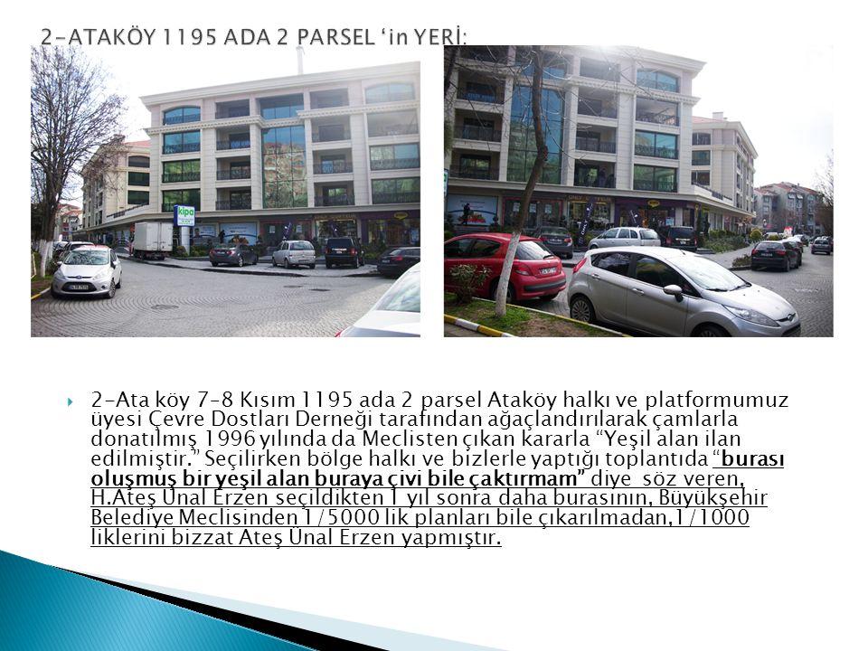  Bakırköy Yeşilyurt H 12-Bakırköy Yeşilyurt Hava Harp Okulu yanındaki yeşil alan imara açılmıştır.