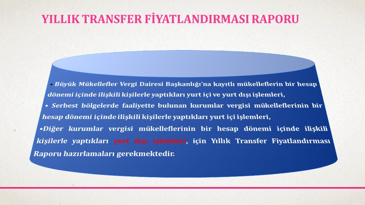 YILLIK TRANSFER FİYATLANDIRMASI RAPORU