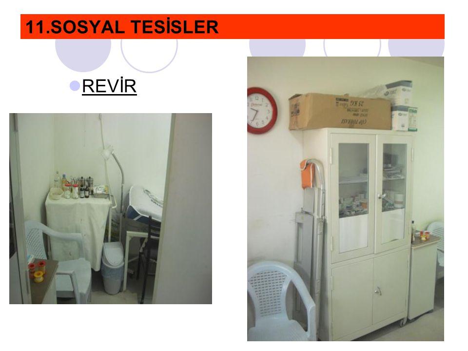 11.SOSYAL TESİSLER  REVİR