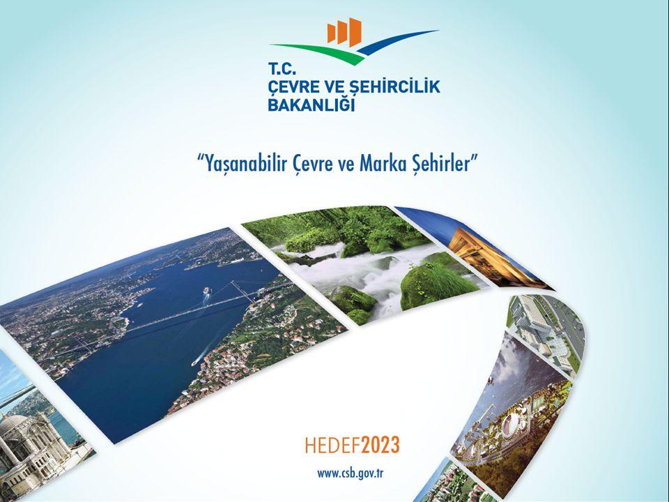  Bakanlığımızca, 6306 sayılı Kanun kapsamında;  İzmir-Karabağlar'da 540 hektar büyüklüğünde bir alan riskli alan olarak ilan edilmiştir.