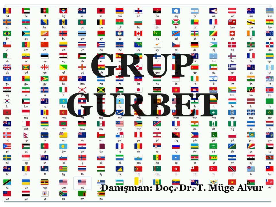 GRUP GURBET Danışman: Doç. Dr. T. Müge Alvur