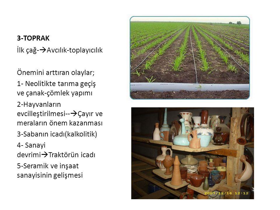4-ORMANLAR -Besin maddesi -Barınma maddesi -Yakıt( enerji)  Madenlerin eritilmesinde.