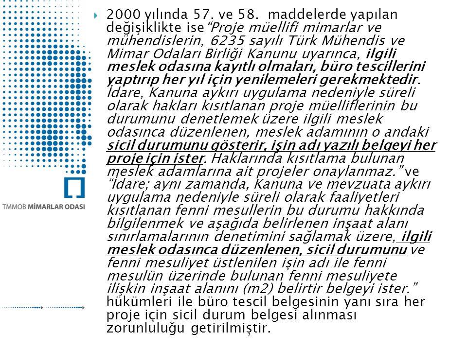  2000 yılında 57.ve 58.
