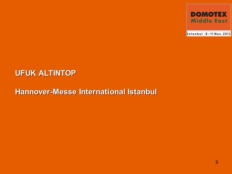9 UFUK ALTINTOP Hannover-Messe International Istanbul