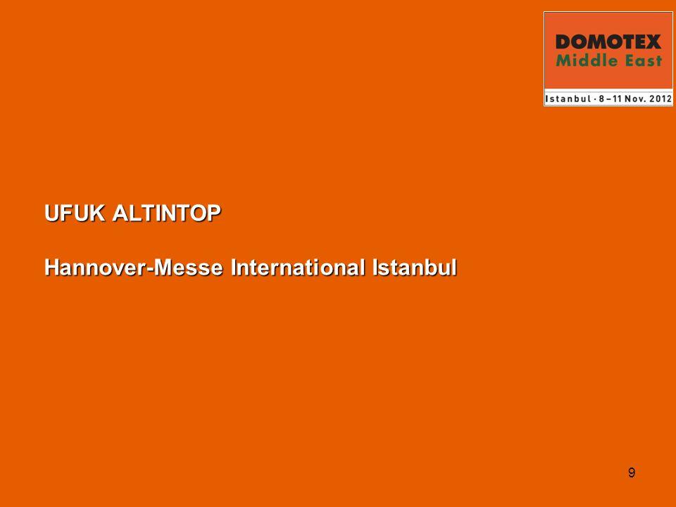 10 DOMOTEX Middle East Türkiye ve Ortadoğu Zemin Fuarı .