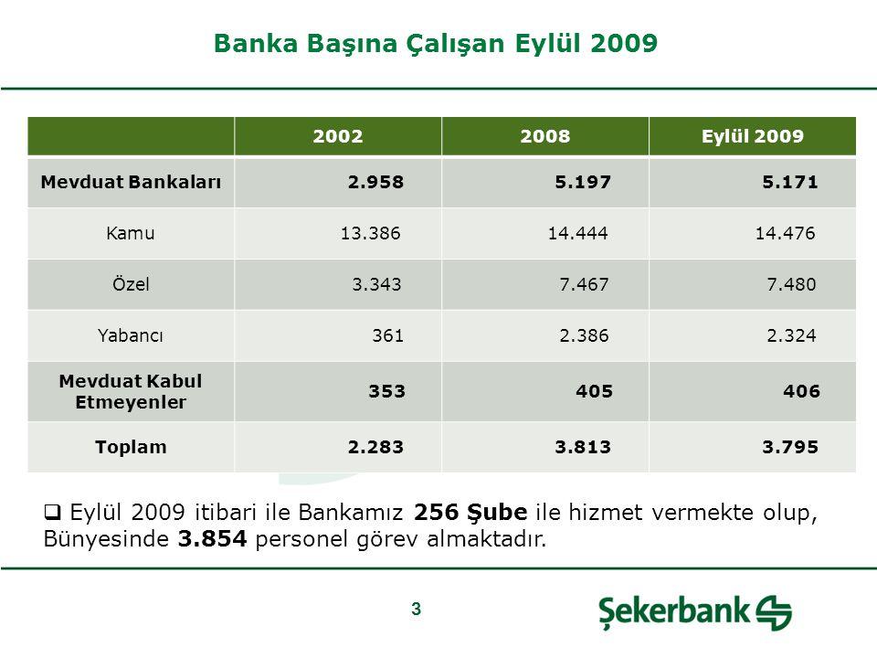 Coğrafi Dağılım 2006200720082009E 209235250256 ŞubelerSayı% Ankara3313% Istanbul5321% Izmir135% Diğer15761% Toplam256100% Bankalar*İlçeİl Türkiye İş Bankası A.Ş.42881 Akbank T.A.Ş.30676 Yapı ve Kredi Bankası A.Ş.31471 Türkiye Garanti Bankası A.Ş.