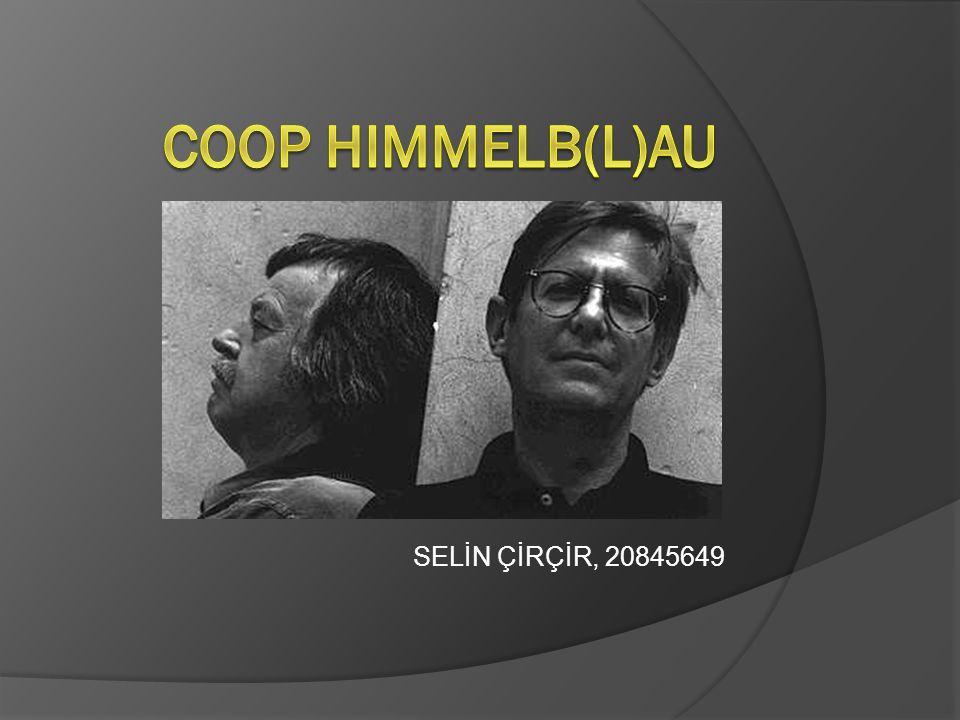 Coop Himmelb(l)au, 1968 yılında Wolf D.Prix ve Helmut Swiczinsky tarafından Viyana'da kurulmuştur.