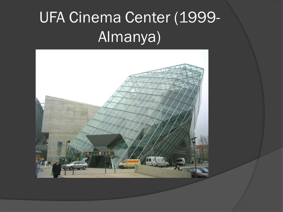 UFA Cinema Center (1999- Almanya)