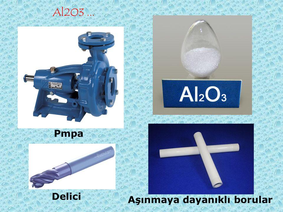 Al2O3... Pmpa Aşınmaya dayanıklı borular Delici