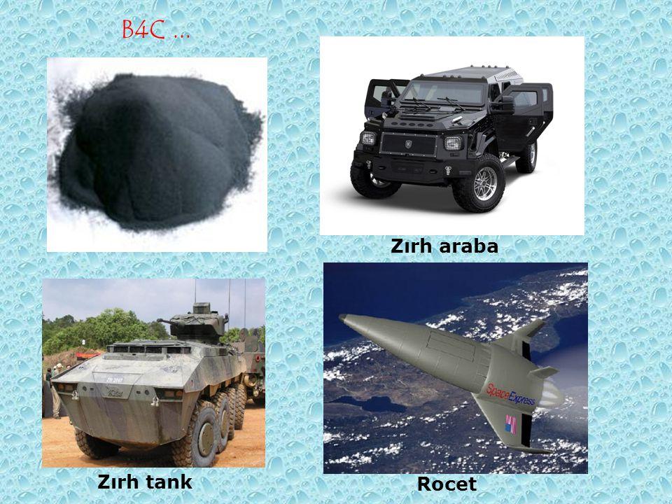 B4C... Zırh araba Zırh tank Rocet