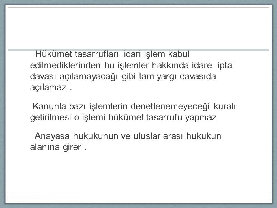 İ dari i ş lemleri ngeri alınması a ) Düzenleyici i ş lemler Hukuka uygun / Hukuka aykırı Geri alınamaz Dava açma süresi içinde geri alınabilir
