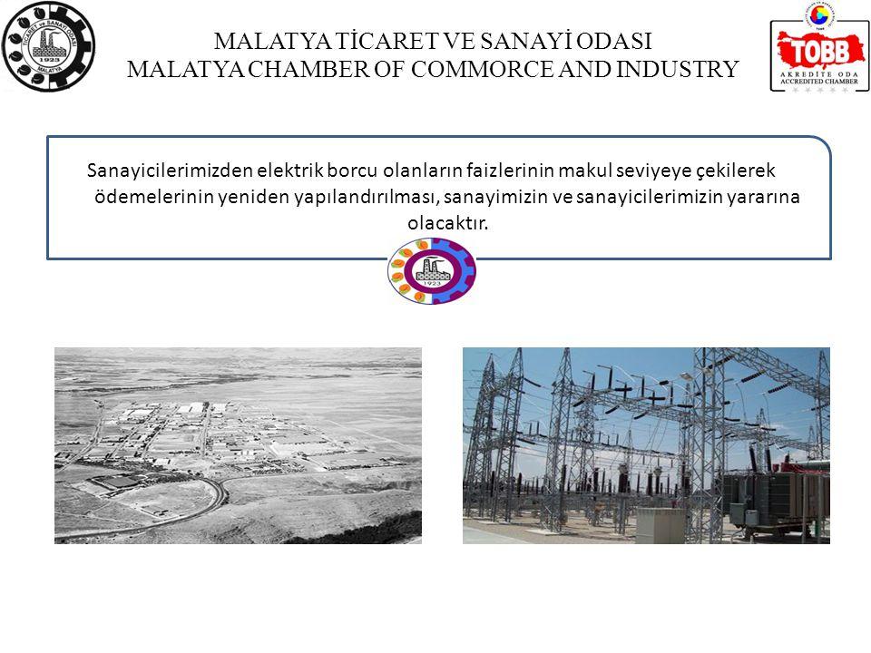 MALATYA TİCARET VE SANAYİ ODASI MALATYA CHAMBER OF COMMORCE AND INDUSTRY Malatya 2.Organize Sanayi Bölgesi Genel Bilgileri Malatya 1.