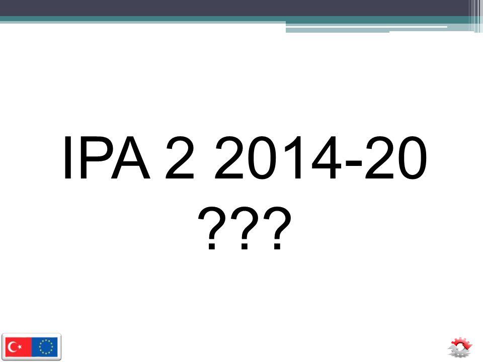 IPA 2 2014-20 ???