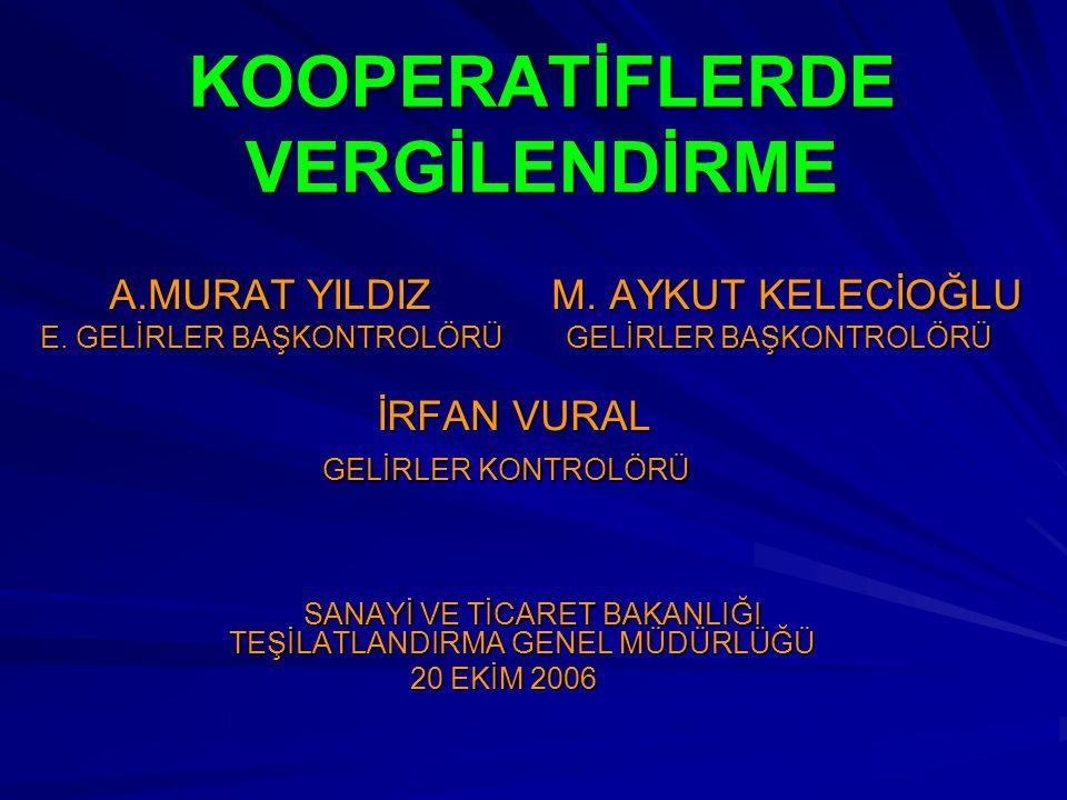 KOOPERATİFLERİN VERGİSEL ÖDEVLERİ MUHAFAZA VE İBRAZ ÖDEVİ Türk Ticaret Kanununa göre, defterin son kayıt tarihinden ve saklanması mecburi olan diğer hesap ve kağıtların tarihlerinden itibaren on yıl geçinceye kadar saklanması mecburidir.