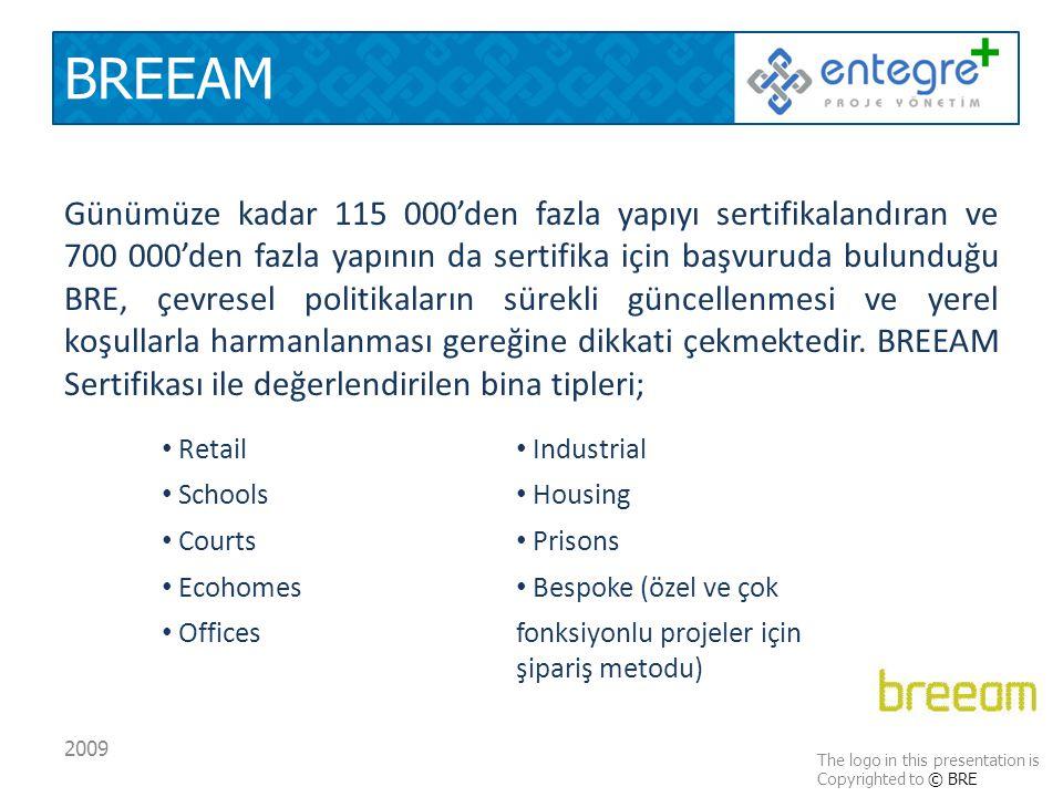 BREEAM Günümüze kadar 115 000'den fazla yapıyı sertifikalandıran ve 700 000'den fazla yapının da sertifika için başvuruda bulunduğu BRE, çevresel politikaların sürekli güncellenmesi ve yerel koşullarla harmanlanması gereğine dikkati çekmektedir.