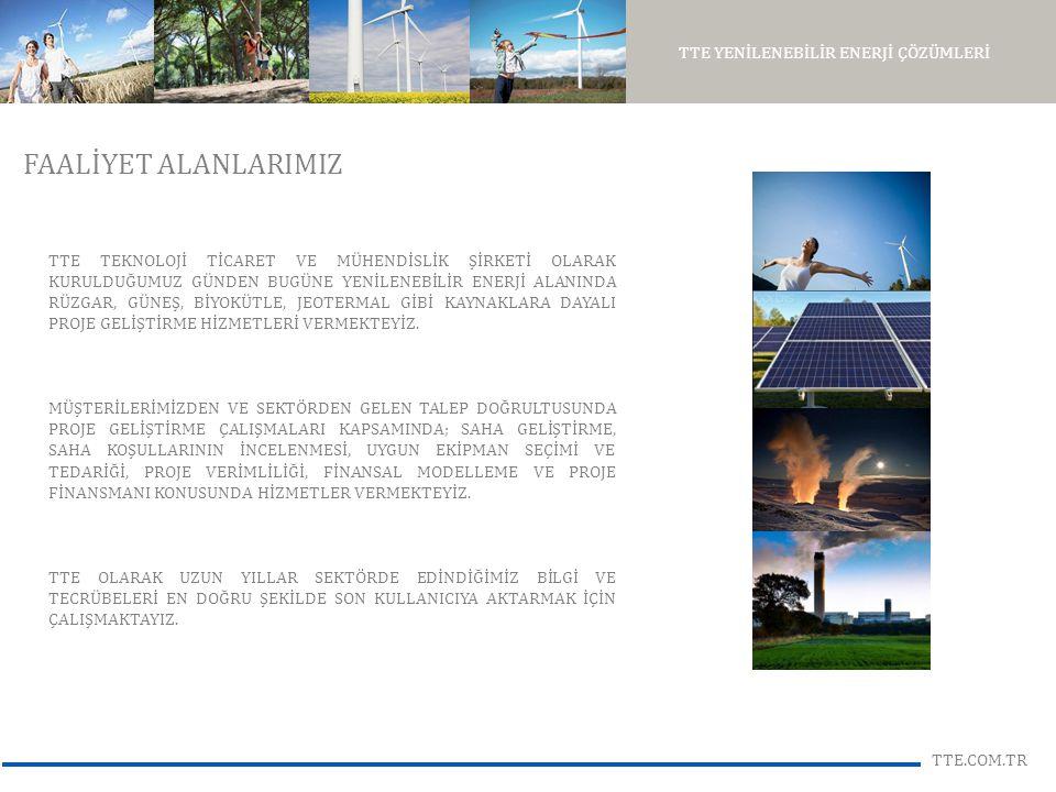 TTE YENİLENEBİLİR ENERJİ ÇÖZÜMLERİ TTE.COM.TR TÜRKİYE'NİN RÜZGAR ENERJİ PAZARI YENİLENEBİLİR ENERJİ KANUNU VE FİYATLAR