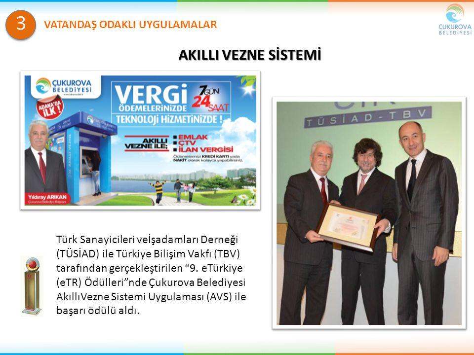 AKILLI VEZNE SİSTEMİ VATANDAŞ ODAKLI UYGULAMALAR 3 Türk Sanayicileri veİşadamları Derneği (TÜSİAD) ile Türkiye Bilişim Vakfı (TBV) tarafından gerçekle