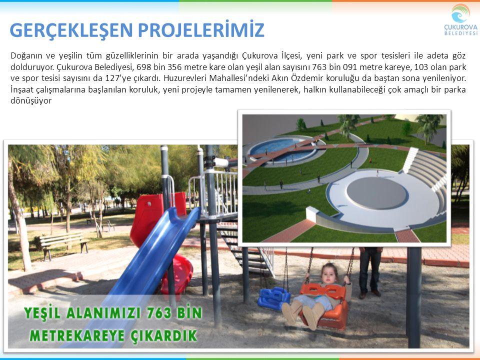 Doğanın ve yeşilin tüm güzelliklerinin bir arada yaşandığı Çukurova İlçesi, yeni park ve spor tesisleri ile adeta göz dolduruyor. Çukurova Belediyesi,