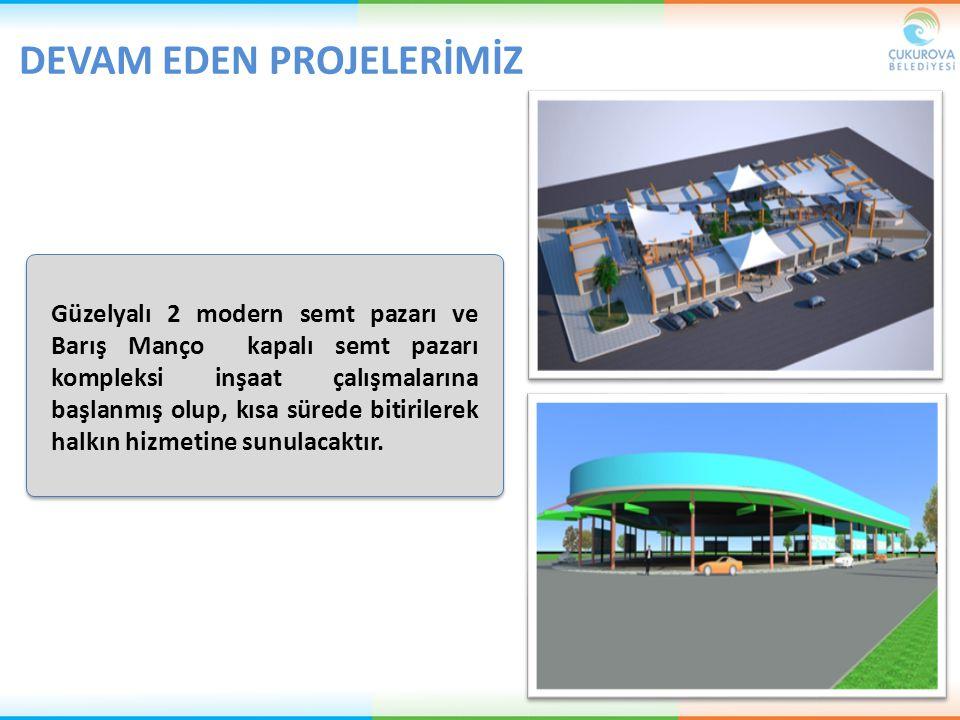 Güzelyalı 2 modern semt pazarı ve Barış Manço kapalı semt pazarı kompleksi inşaat çalışmalarına başlanmış olup, kısa sürede bitirilerek halkın hizmeti