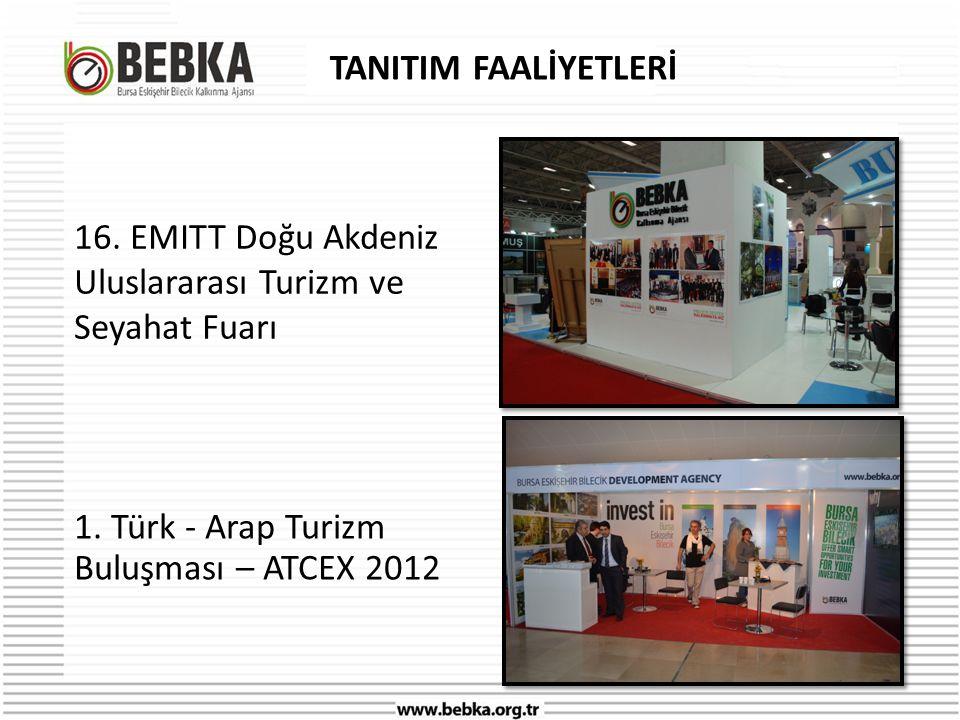 TANITIM FAALİYETLERİ 16.EMITT Doğu Akdeniz Uluslararası Turizm ve Seyahat Fuarı 1.