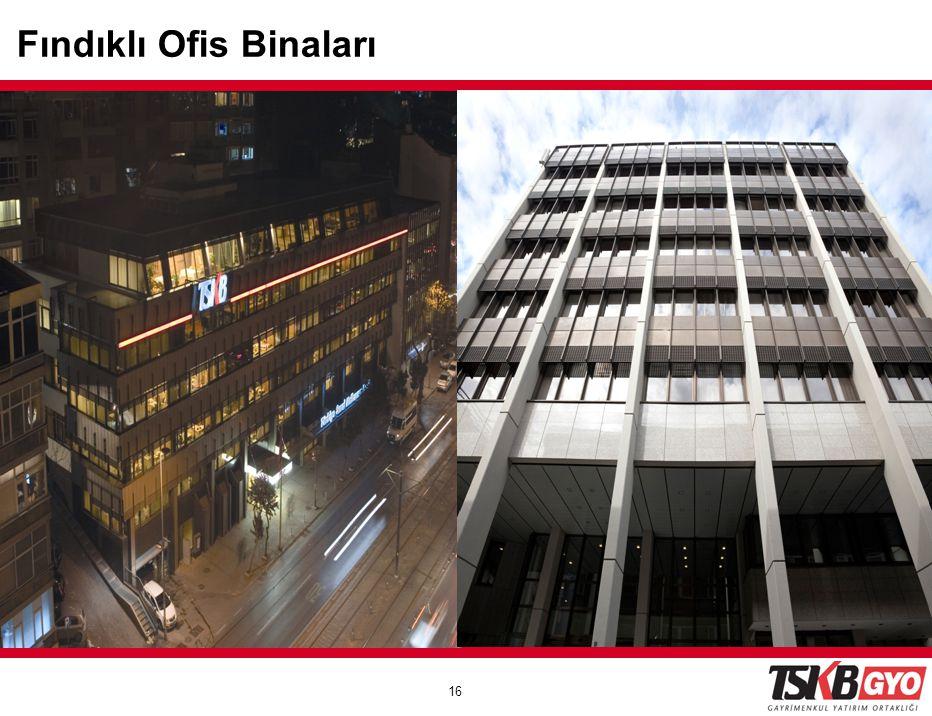 16 Fındıklı Buildings Fındıklı Ofis Binaları