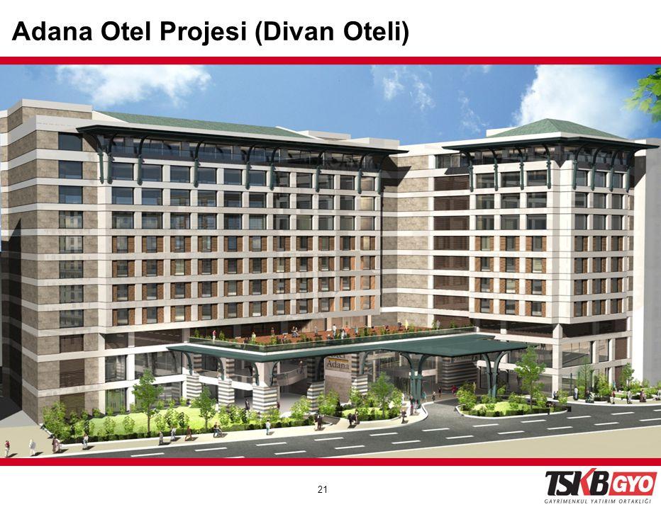 21 GALATAPORT Assets will be valued under the influence Galataport Adana Otel Projesi (Divan Oteli)