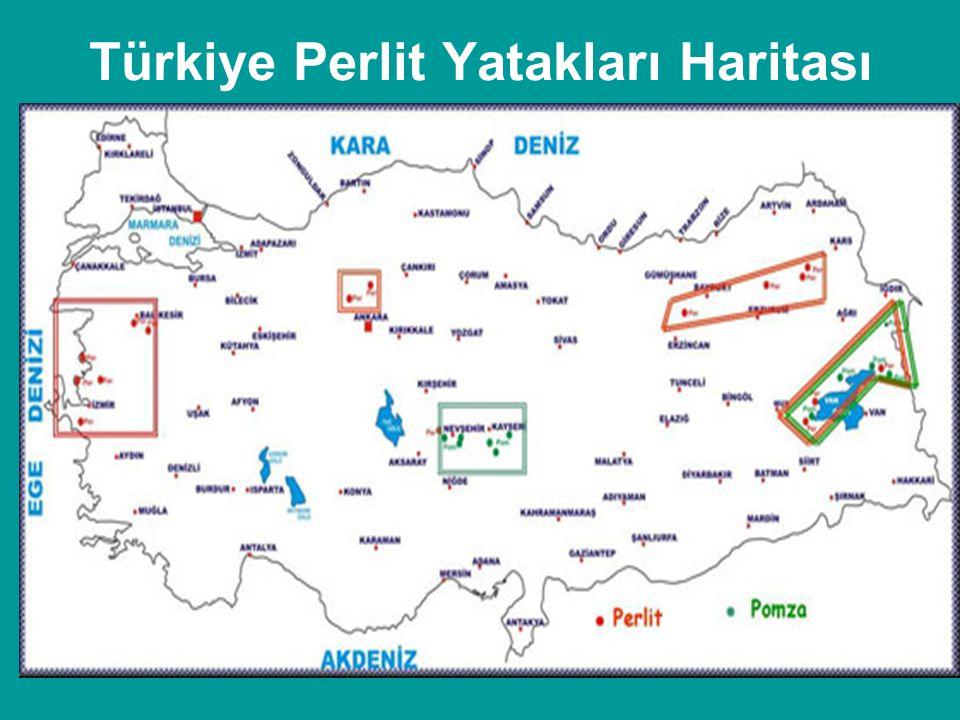 Türkiye Perlit Yatakları Haritası