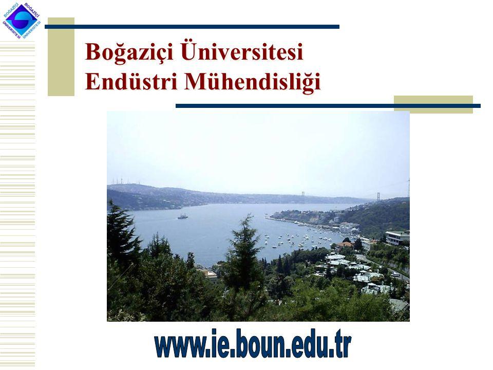 Boğaziçi Üniversitesi Endüstri Mühendisliği