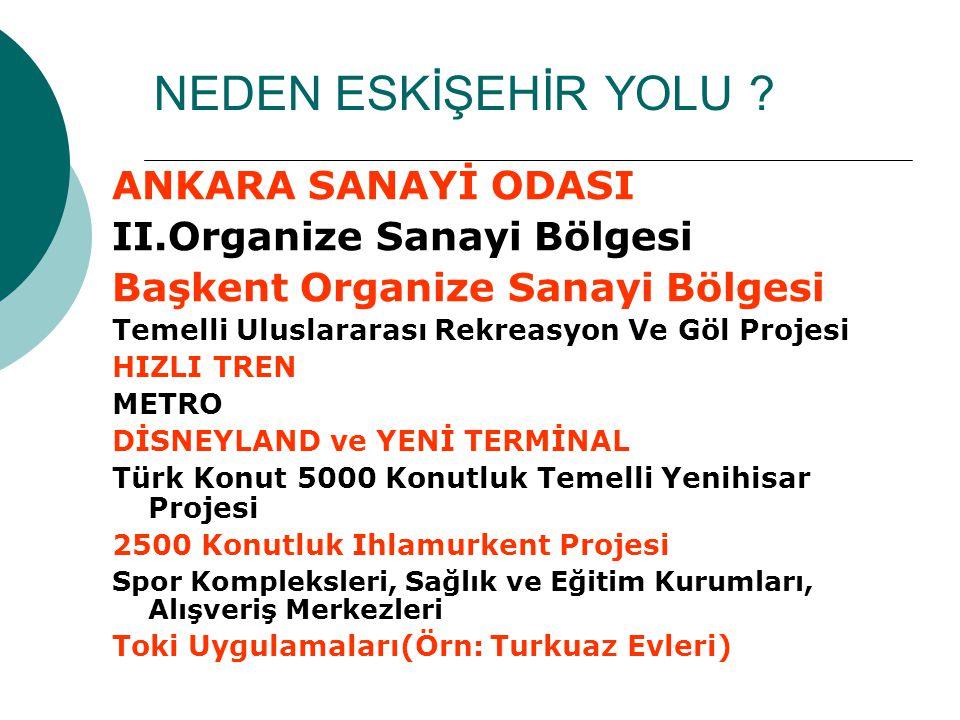 Metro  Ümitköy Çayyolu metrosu ile Sincan ve Fatih metrosu Yeni otobüs terminaline ulaşımı sağlayacaktır Metroyla Kızılay-Ulus- Batıkent ve Ankaray projesindeki bütün yerler bir adım ötenizde olacak.Ulaşım ve Park probleminin yaşandığı günümüzde bu çok önemli bir ayrıntı olsa gerek…