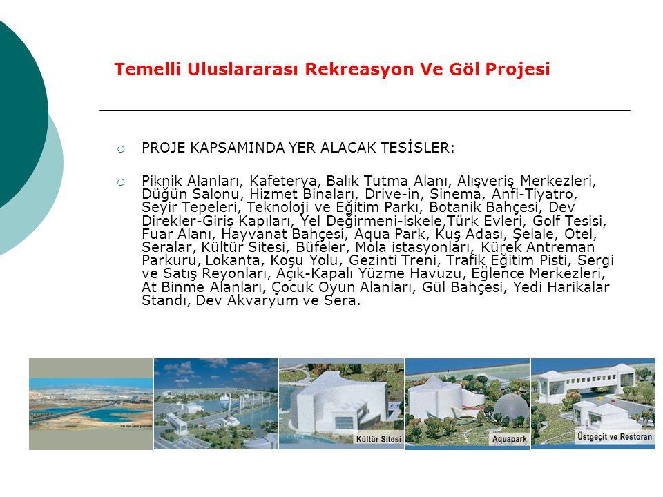  Altınpark ın 3 katı büyüklüğünde olan bu projeyle Temelli beldesinin ve o bölgenin çehresi değişecek.