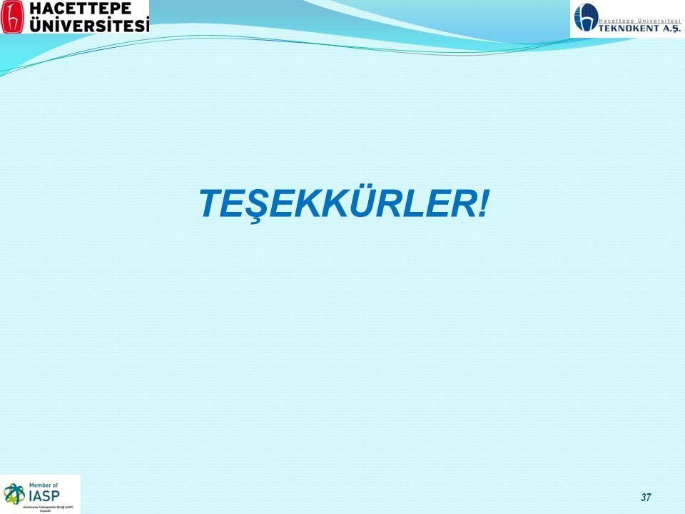 TEŞEKKÜRLER! 37